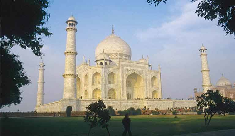 Taj mahal of Agra