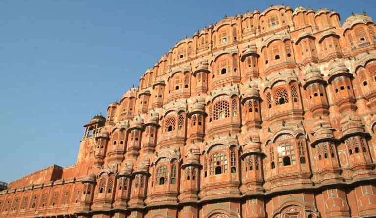 Hawa mahal picturesque sight